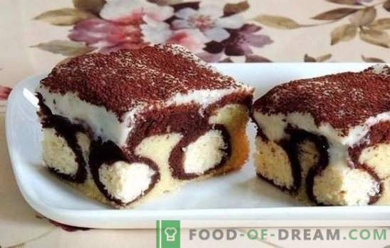 Cake with balls of cheese - a real masterpiece! Cake with cottage cheese balls in the oven and the slow cooker