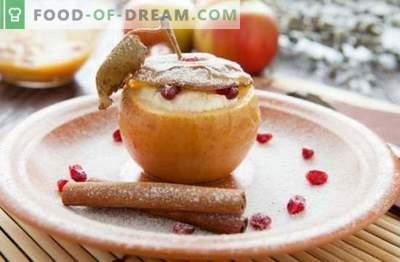 """""""Apple"""" desertas - patiekalas su savo mėgstamu skoniu! Ledai, pyragaičiai, pyragaičiai, salotos ir kiti naminiai desertai iš obuolių"""