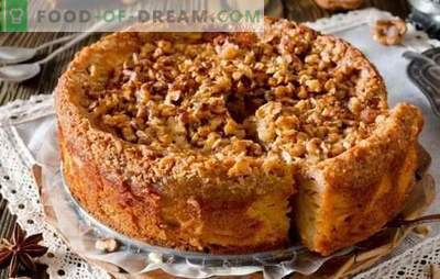 Greitas arbatos tortas - namų šeimininkės receptai! Greitų pyragų receptai arbatai su varškės, obuolių, kakavos, uogiene ir uogiene