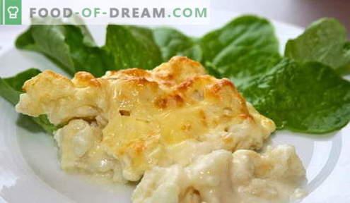 Grietinės padažas - geriausi receptai. Kaip tinkamai ir skaniai pagardinti grietinės padažą.
