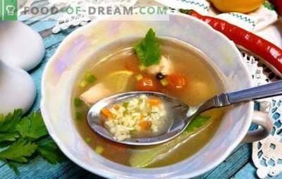 Žuvų sriuba su soromis: rusų stiliaus ausis! Paprasti žuvų sriubos receptai su kailiu iš šviežių, šaldytų žuvų ir konservų