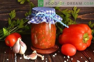 Lyutenitsa - bulgarų pipirų ir pomidorų padažas