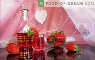 Kaip padaryti, kad naminiai braškių vynai? Romantiškas ir aromatingas uogų braškių namų vyno receptai