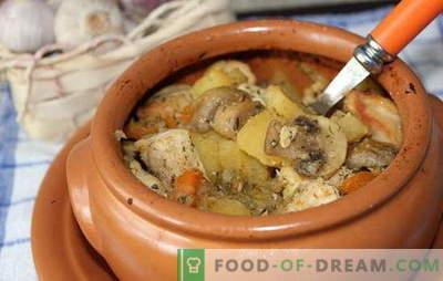 Kas gali būti geresnė už kepimą su grybais ir mėsa šalta diena? Skrudinti receptai su grybais ir mėsa geriausioms šeimos vakarienėms
