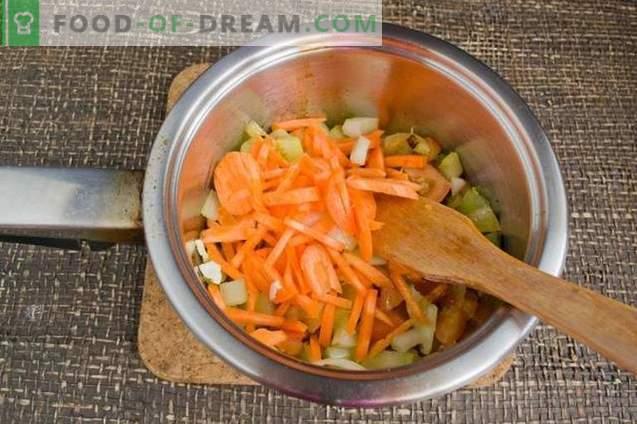 Vegetariško kremo sriuba - Indijos klasika