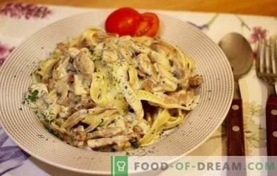 Cūkgaļas makaroni - Itālijas gabals jūsu virtuvē. Labākās receptes pienācīgi vārītiem cūkgaļas makaroniem