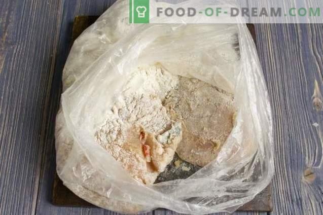 Skanus vištienos filė su sūriu orkaitėje