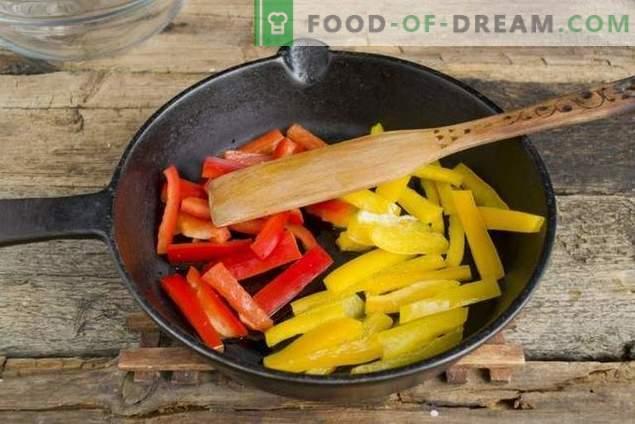 Salotos su raudonomis pupelėmis ir vištiena