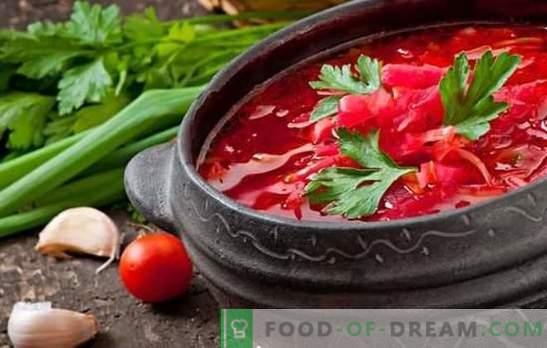 Trys borschtas su jautiena - žingsnis po žingsnio receptai. Pietų Rusijos, Ukrainos ir kazokų virtuvės paslaptys: barščiai su jautiena (žingsnis po žingsnio)