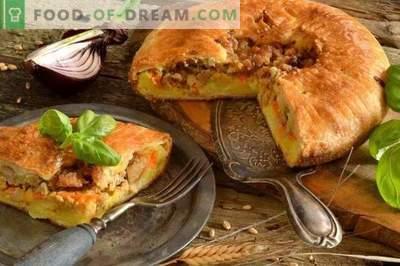 Anglų pyragas su bulvėmis ir mėsa