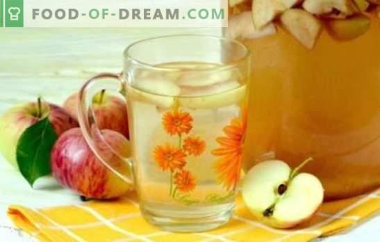 3 litrų skardinių obuolių kompotas yra natūralus gėrimas visai šeimai. Geriausi receptai kompotams iš obuolių 3 l stiklainiuose