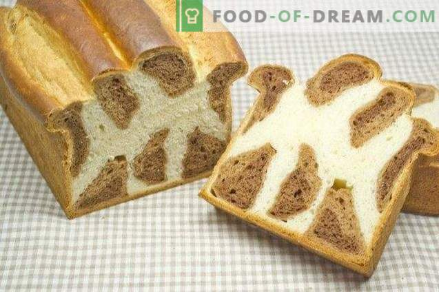Leopardo brioche - saldi duona Kalėdoms