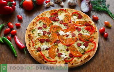 Pepperoni pica: skanus itališkas pyragas. Geriausi pepperoni pica receptai su salami, mozzarella, pomidorais