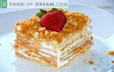 """""""Napoleono"""" troškinys - švelnus ir lengvas. Receptai geriausi naminiai pyragaičiai tortui"""