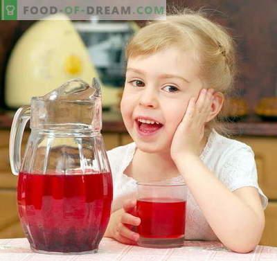 Kompotas vaikui - geriausi receptai. Kaip tinkamai ir skaniai kompotuoti vaikui.