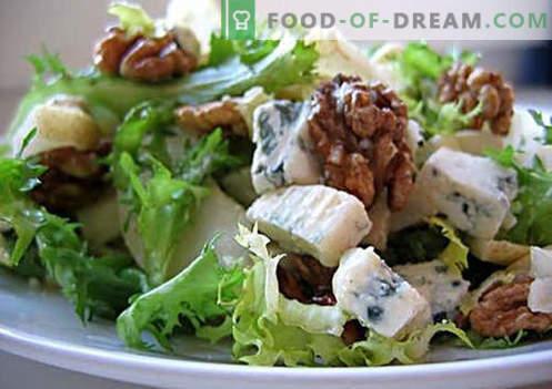 Vegetariškos salotos yra geriausi receptai. Kaip tinkamai ir skaniai ruošti vegetarines salotas.