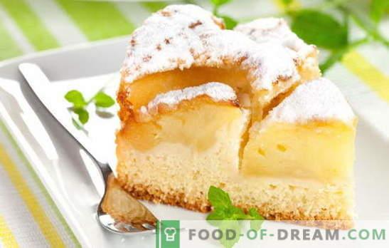 Naminiai bandelės visada yra ypatingos: obuolių kefyro pyragai. Paprasti tešlos ir tešlos receptai jogurtui su obuoliais