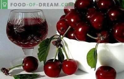 Технологија на вишно вино дома. Рецепти на популарни брендови: необично вино вино дома