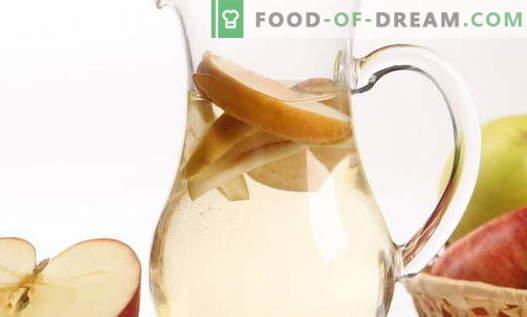 Kompotas iš obuolių - geriausi receptai. Kaip tinkamai ir skaniai padaryti kompotą iš obuolių.
