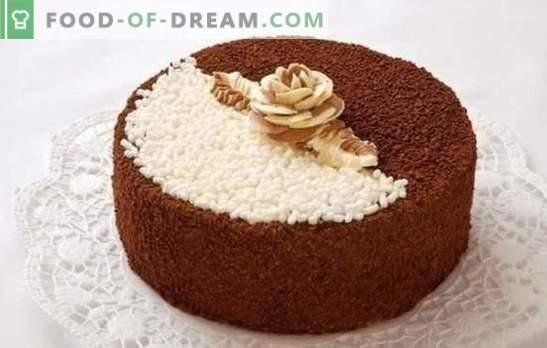 """Tortas """"Diena ir naktis"""": vienas vardas - skirtingi receptai. Kaip gaminti skanų pyragą """"Diena ir naktis"""" su kepimu ir be kepimo"""