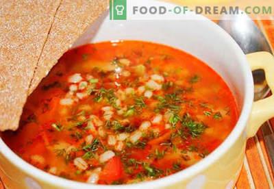 Miežių marinuoti agurkai - geriausi receptai. Kaip tinkamai ir skaniai virti marinuoti miežius.