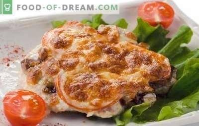 Karališkoji kiauliena - universalus patiekalas! Naminiai kiaulienos receptai karališkai su grybais, pomidorais, bulvėmis, ananasais, sūriu