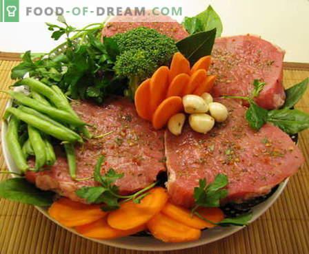 Jautiena kepama orkaitėje - geriausi receptai. Kaip tinkamai ir skaniai virti jautienos krosnyje.