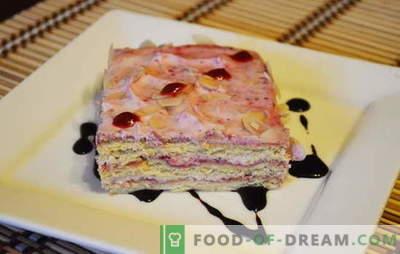 Torta v naglici - fantazijska pravila! Najboljši recepti za pecivo v naglici: iz skute, piškotov, medenjakov, gotovih peciv in sadja