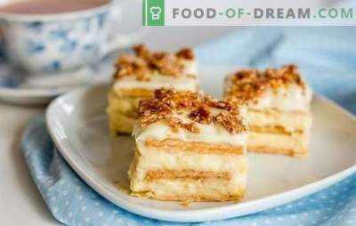 Kaip gaminti originalų tortą iš krekerių be kepimo. Skanūs kepėjai be kepinių: greiti ir lengvi receptai