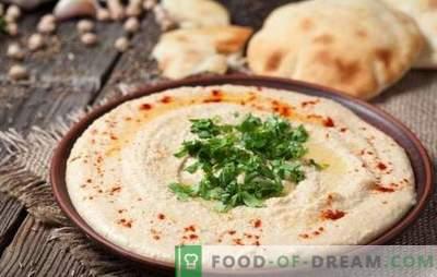 Homus de grão de bico caseiro - uma alternativa ao purê de batatas. Hummus de grão de bico em casa: como cozinhar corretamente