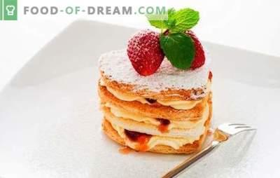 Desertai be kepimo - paprasti saldainiai džiaugsmui! Receptai įvairiems naminiams desertams be kepimo sausainių, meduolių, vaisių, varškės
