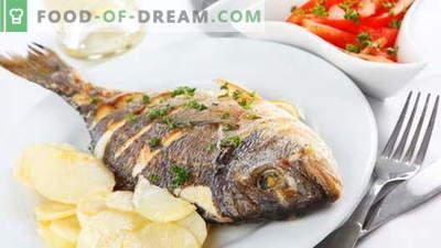 Kepta žuvis - geriausi receptai. Kaip tinkamai ir skaniai virti keptas žuvis.