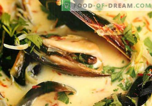 Gemüsebrühe Suppe - die besten Rezepte. Wie man richtig und lecker Suppe in Gemüsebrühe kocht.