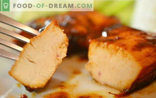 Vištiena sojos padaže - geriausi receptai. Kaip tinkamai ir skaniai virti vištiena su sojos padažu.