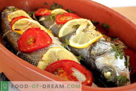 Žuvys kepamos orkaitėje - geriausi receptai. Kaip virti žuvis orkaitėje.