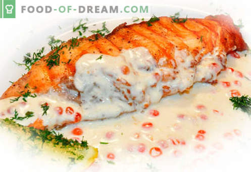 Lašišos kepsnys - geriausi receptai. Kaip tinkamai ir skaniai virti lašišos kepsnys.