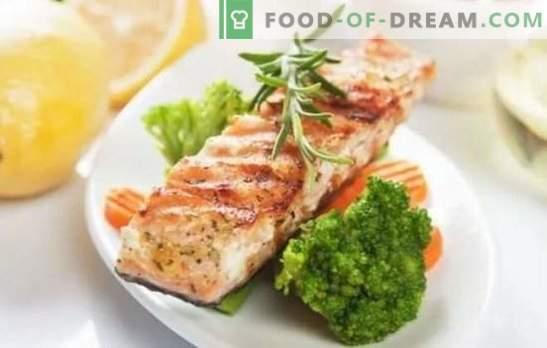 Žuvų kepsnys - įspūdingas vaizdas, puikus skonis! Žuvų kepsnių receptai keptuvėje, orkaitėje su skirtingais marinatais ir produktais