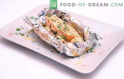 Krosnelėje esantis menkės folijoje yra skanus mitybos patiekalas. Kaip virti menkes folijoje į krosnį, kad gautumėte namų ūkio susižavėjimą?