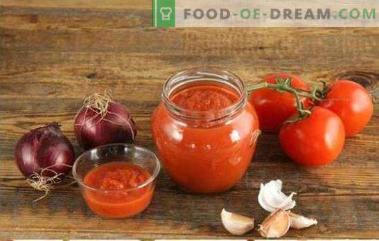 I pomodori tritati per l'inverno sono il modo migliore per elaborare l'intero raccolto. Le migliori ricette di pomodori attraverso il tritacarne per l'inverno