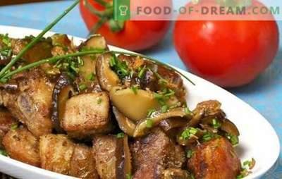 Kiauliena su grybais lėtoje viryklėje - mėsoje su stebuklingu aromatu! Kaip greitai padaryti kiaulieną su grybais lėtoje viryklėje
