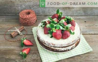 Imbiero pyragas - unikalus skonis! Paprasti sausainių, medaus, puodelių ir greito imbiero pyragaičių receptai