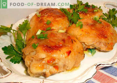 Kip in een snelkookpan - de beste recepten. Hoe goed en smakelijk kip koken in een snelkookpan.
