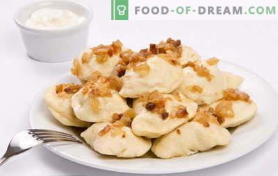 Koldūnai su neapdorotomis bulvėmis - geresni, mažesni. Receptai su koldūnais su žaliavinėmis bulvėmis ir šonine, maltomis
