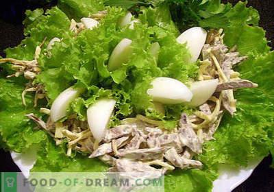 Kiaulienos širdies salotos - geriausi receptai. Kaip tinkamai ir skaniai virti kiaulienos širdies salotos.