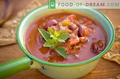Pupelių sriuba - geriausi receptai, gudrybės ir paslaptys. Kaip virti skanios pupelių sriuba: su mėsa, šonine, vištiena