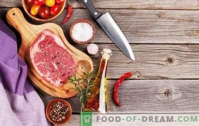 Ce condimente sunt necesare pentru carne și care nu pot fi utilizate în niciun caz?