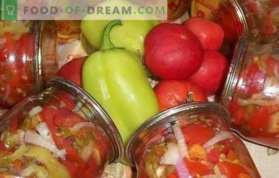 """Kas nebuvo bandęs """"pirštų laižymas"""" pomidorų salotos žiemai? Ne skaniau! Autorių teisių receptai iš serijos """"Pirštai, kuriuos jūs nužudysite"""" žiemai"""