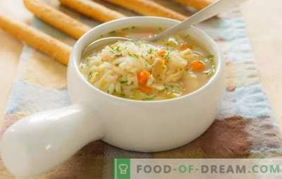 Žuvų sriubos vaikams: įvadas į mitybą. Receptai žuvų sriuboms vaikams iš šviežios žuvies ir konservų