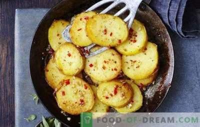 Kodėl negalima kepti bulves: pagrindinės klaidos