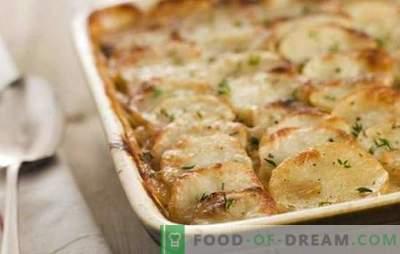 Bulvės su majonezu orkaitėje - nėra labai naudingos, bet neįtikėtinai paprastos ir skanios. Geriausi majonezo bulvių receptai orkaitėje